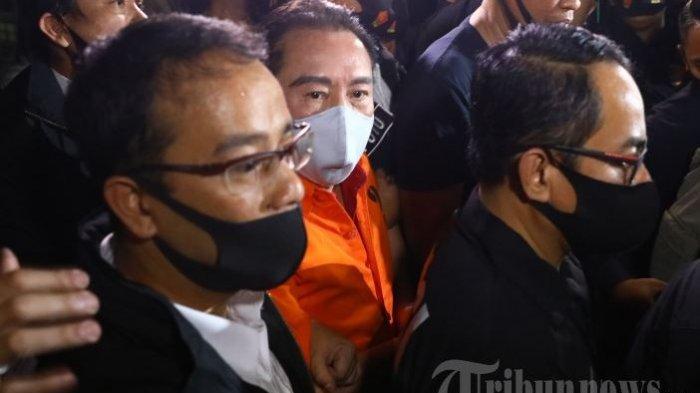 Djoko Tjandra sesaat usai berhasil ditangkap di Malaysia, dan dibawa ke Indonesia Kamis (30/7/2020) malam.