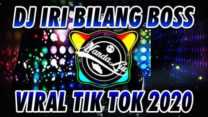 Download Lagu DJ Bale-Bale Iri Bilang Bos MP3, Lagu Remix DJ TikTok