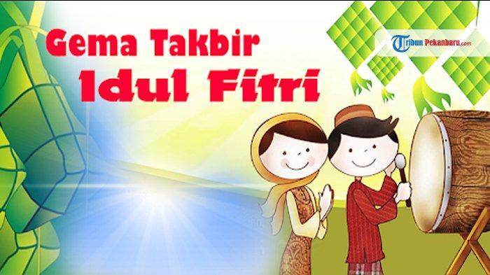 Download Gema Takbir, Sambut Lebaran Idul Fitri 1441 H