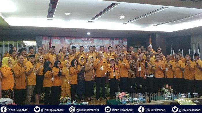 DPD Hanura Riau Minta Percepat Munas dan Usung OSO, Suhardiman Amby Maju di Pilkada Kuansing 2020