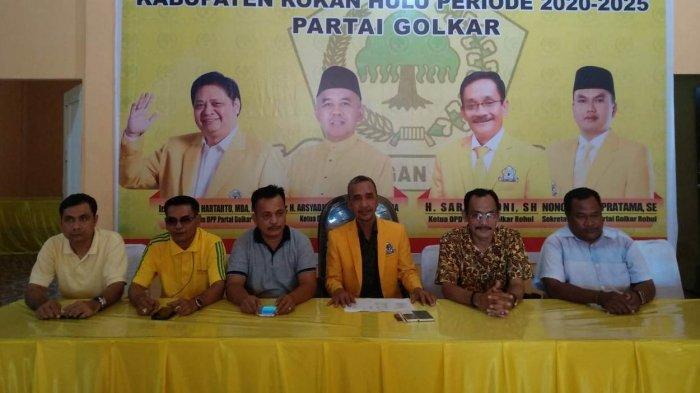 DPD II Golkar Rohul Tutup Pendaftar dengan 17 Calon untuk Pilkada 2020
