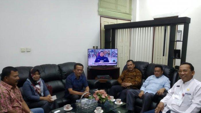 DPRD Inhu Bertandang ke Kuansing, Tukar Informasi Soal Pembukaan Masa Sidang