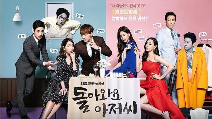 Nonton Drama Korea Come Back Mister Tayang di NET TV, Drakor Tentang Kesempatan Kedua
