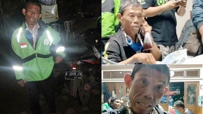 Kakek Ojol Ditipu Penumpang di Tengah Wabah Corona, Tempuh Jarak 230 KM Hanya Ditinggalkan Sandal