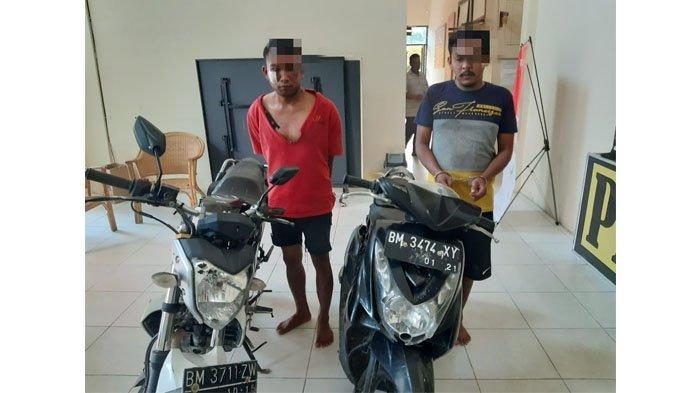 Gagal Sikat Yamaha Bison Guru Honor, Motor Milik 2 Pelaku Curanmor di Perhentian Raja Ikut Diamankan