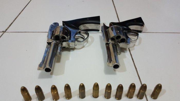 Sewa Pistol Rp 50 Ribu, Dua Pelaku Rampas HP Milik 3 Pelajar SMA, Pemilik Senpi Ikut Diamankan