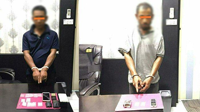 Coba Kelabui Petugas, Dua Tersangka Simpan Sabu di Dalam Kotak Saklar Listrik