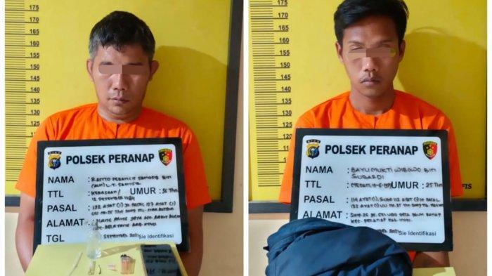 Dua Pengedar Narkoba di Inhu Diringkus, Satu Tersangka Ditangkap Saat Sedang Nyabu