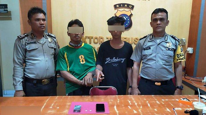 Dua Remaja Bawa Sabu Diamankan Polisi di Rohul, di Dumai Aparat Ungkap Penyelundupan 10 Kg Sabu