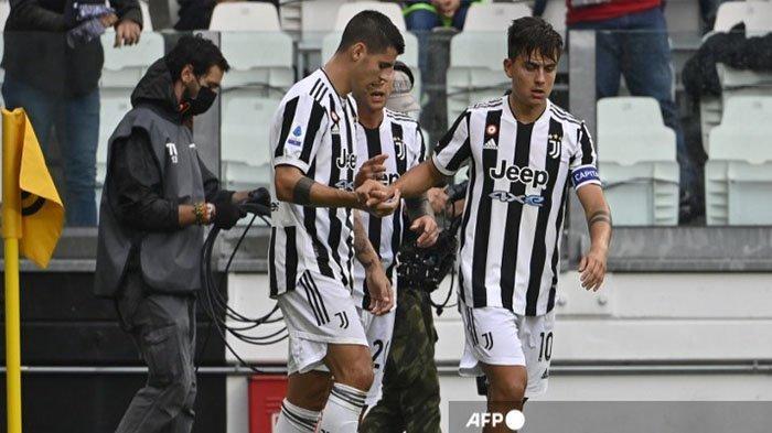 Paulo Dybala Menangis usai Cetak Gol bagi Juventus, Tinggalkan Lapangan sambil Usap Air Mata
