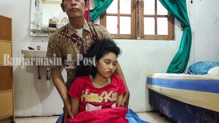 Ingat Echa Si Putri Tidur Asal Banjarmasin?Kini Kembali Tertidur Sudah Seminggu, Dulu Pernah 13 Hari