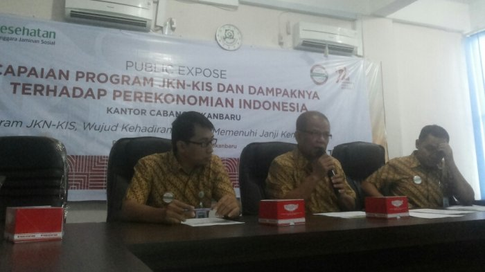 Sudah Capai 1.738.613 Peserta, Public Expose Capaian Kinerja BPJS Kesehatan Pekanbaru