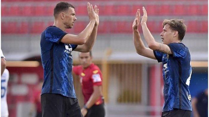Liga Italia : Tancap Gas Bersama Inter Milan, Edin Dzeko Disejajarkan dengan Legenda Nerazzurri