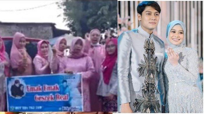 Emak-emak Fans Militan Lesti Kejora dan Rizky Billar Bikin Acara Nobar Lamaran Pakai Baju Kondangan