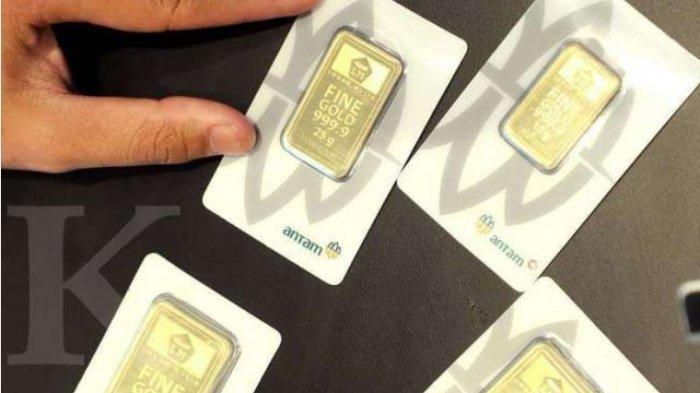 Cek Harga Emas Antam Hari Ini Rabu 17 Februari 2021, Turun Rp 13.000, Ini Rinciannya
