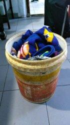Petugas Lapas Gelar Razia Puluhan Paket Ganja Kering Ditemukan Dalam Ember Kain Kotor