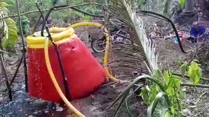 Embung Portable Solusi Sumber Air Jauh dari Titik Api Karhutla di Pelalawan, Ingin Tahu Bentuknya?