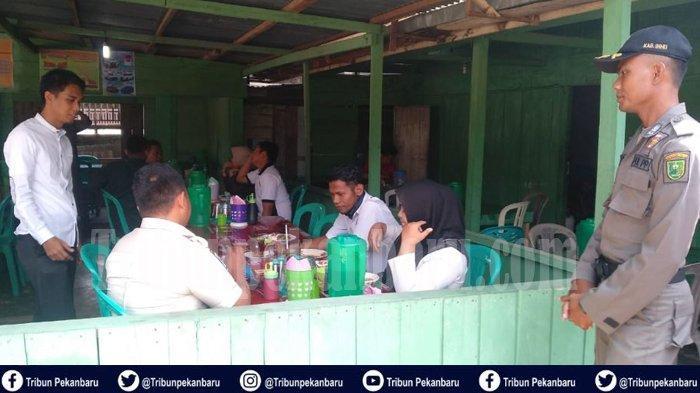 Empat Orang ASN dan Dua Honorer di Riau TERCIDUK Satpol PP di Kedai Kopi Saat Jam Kerja