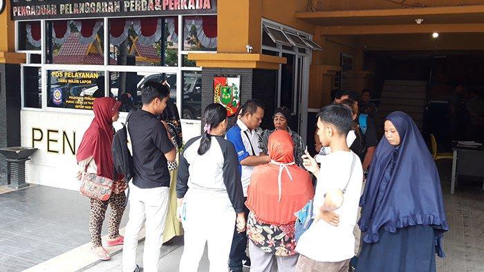 Enggan Pindah, PKL di Jalan Kopi Datangi Satpol PP Pekanbaru, Tapi Akhirnya Pasrah