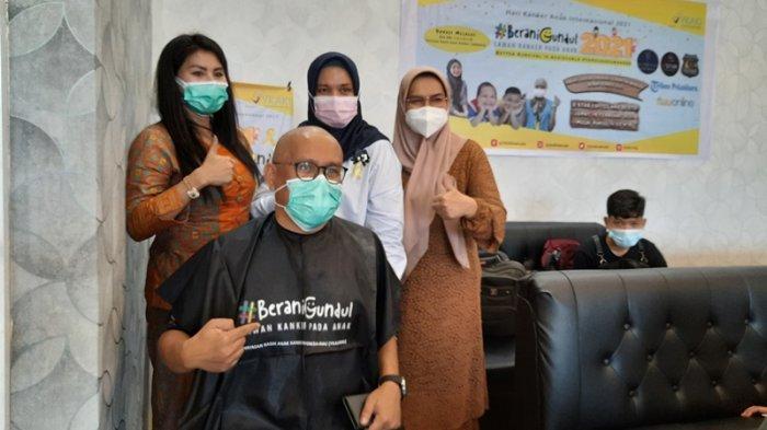 Erikson Bangga Bisa Ikut Gunduli Rambut Demi Anak-anak Penderita Kanker
