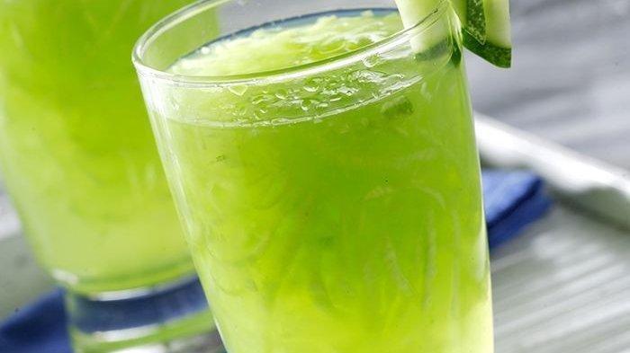 RAGAM Resep Minuman Buka Puasa yang Mudah: Es Timun, Es Kelapa Stroberi, Smoothie Mangga Pisang