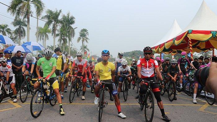 Nur Amirul Dapatkan Yellow Jersey, Etape II Tour de Siak 2019 Dipangkas Jadi 80 Km dari 114 Km