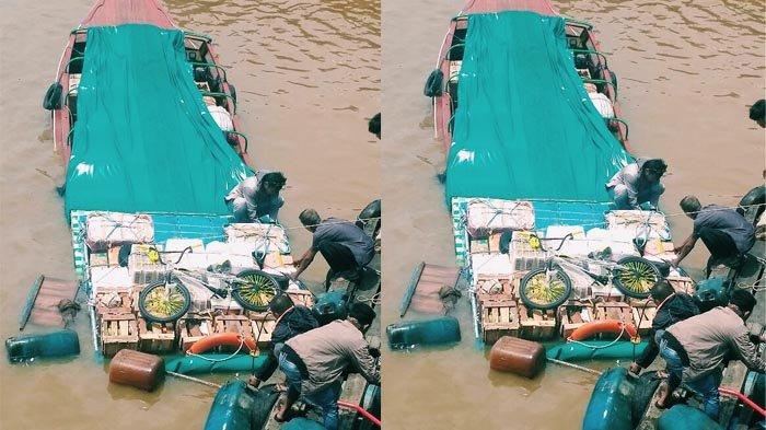 Hantaman Kayu Buat Speed Boat Tenggelam di Inhil, Untung Tak Ada Korban Jiwa