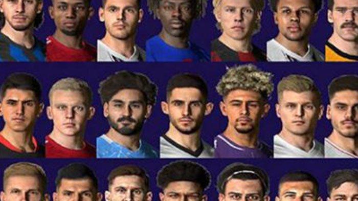 Download Facepack Terbaru Game PES 2017 untuk versi PC, Lengkap Liga Italia, Inggris Spanyol