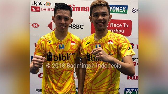 Hasil Japan Open 2018, Fajar Alfian/Muhammad Rian Ardianto Kalahkan Wakil Malaysia