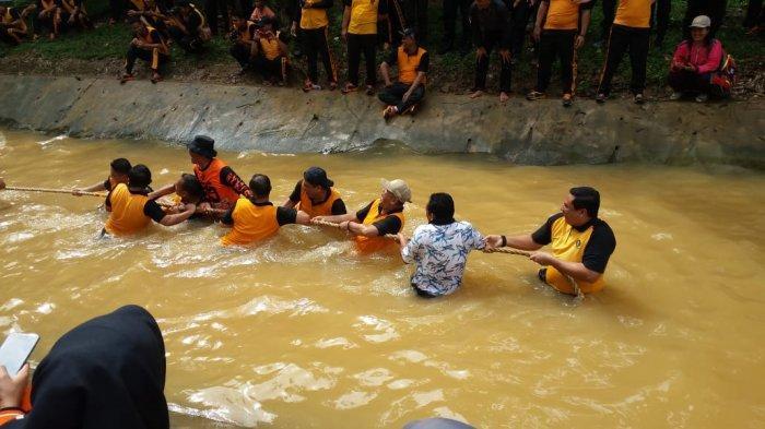 Family Gathering yang Digelar oleh Polres Rohul Berlangsung Seru