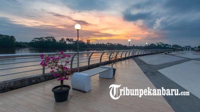 WISATA Pilihan di Riau Saat Libur Lebaran 2019, Grand Canyon Riau di Kampar dan Turap Singapura Siak