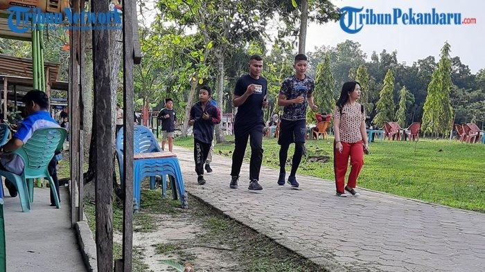 Fenomena Taman Olahraga Rumbai di Pekanbaru, Tempat Jualan atau Tempat untuk Olahraga?