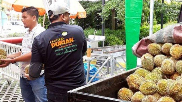 Festival Durian di Pekanbaru, Masyarakat Bisa Nikmati Durian Sepuasnya Rp75 Ribu
