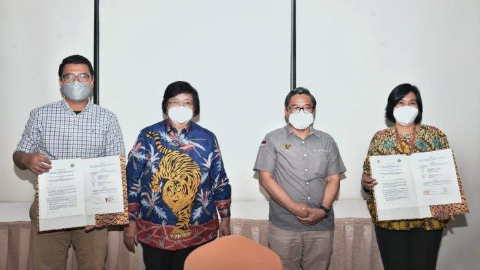 FIA Unilak Tandatangani PKS Perubahan Iklim, Disaksikan Menteri Siti Nurbaya dan Wakil Menteri LHK