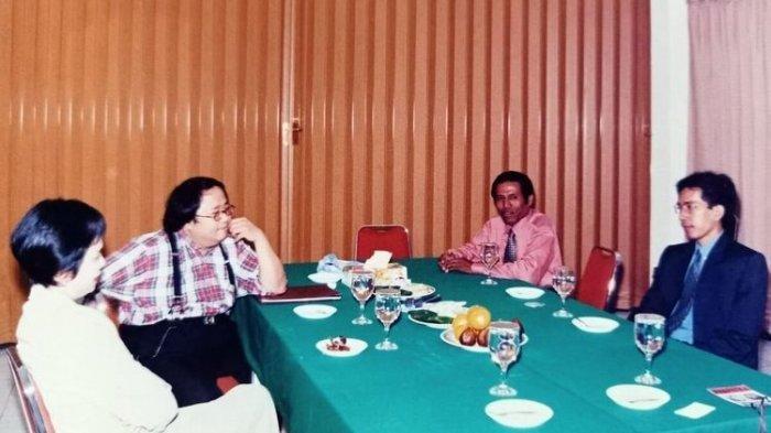Cerita Foto Jadul Pertemuan Jokowi dan Sri Mulyani Serta Ramalan Sosok yang akan Jadi Presiden