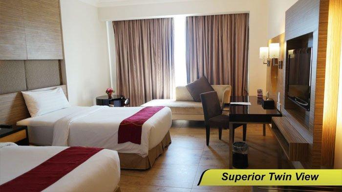 kamar di Grand Basko Hotel, Kota Padang