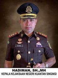 Kejari Kuansing Peringkat Tiga Terbaik se-Indonesia Dalam Penanganan Kasus Korupsi