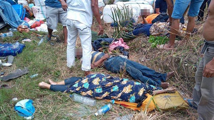 Lima Korban Kecelakaan Bus PMTOH di Kuansing Riau Dirujuk ke RSUD Teluk Kuantan
