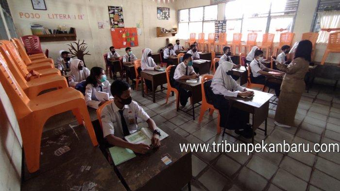 DPRD Pekanbaru Minta Pastikan Persiapan Sekolah Tatap Muka Awal Februari, Jangan PHP Siswa