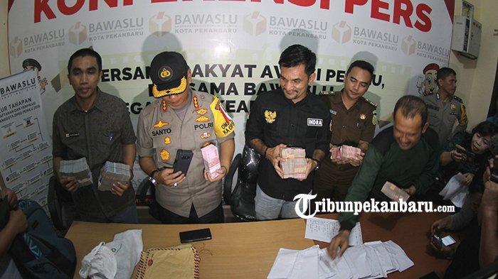 Dilaporkan Dugaan Politik Uang di Bawaslu Pekanbaru, Caleg DPRD Riau Dedet: Ini Rekayasa