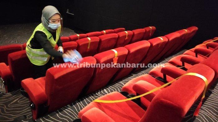 FOTO: Bioskop di Pekanbaru Kembali Buka, Terapkan Protokol Kesehatan - foto_bioskop_di_pekanbaru_kembali_buka_2.jpg