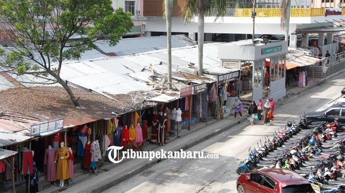 Pedagang Minta Jeda Waktu Beberapa Hari Sebelum Pembongkaran TPS sekitar STC