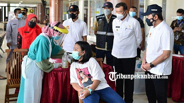 Angka Kesembuhan Pasien Covid-19 di Riau Capai 93 Persen, Gubernur Syamsuar : Jangan Bangga Dulu