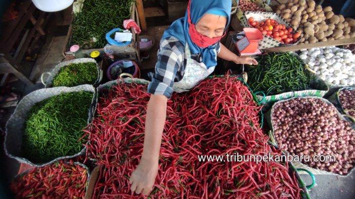 Emak-emak Makin Pusing, Harga Cabe Keriting Terus Merangkak Naik di Kuansing, Berapa Kini Harganya?