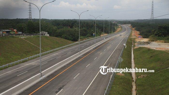 Pekerja Jalan Tol Pekanbaru Dumai Tewas, Konstruksi Tol Pekanbaru-Bangkinang Mulai 2020 Ini