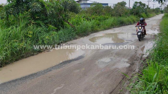 FOTO: Jalan Payung Sekaki Pekanbaru Rusak Parah - foto_jalan_payung_sekaki_pekanbaru_rusak_parah_2.jpg
