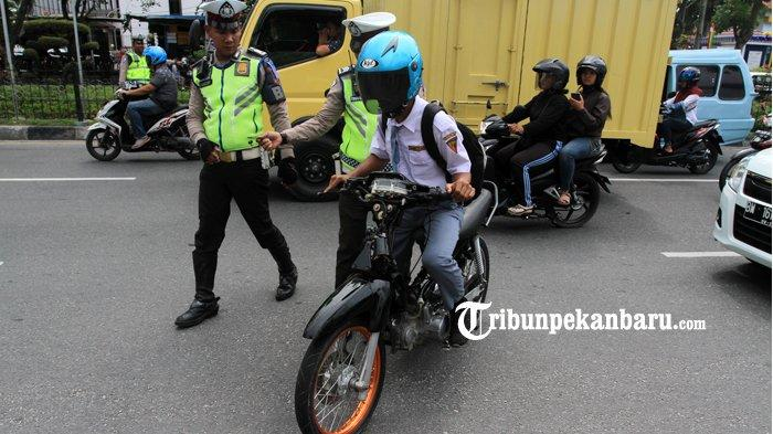 18.725 Pengendara di Riau Ditilang Selama Operasi Zebra Muara Takus 2019, Warga Riau Taat Aturan?