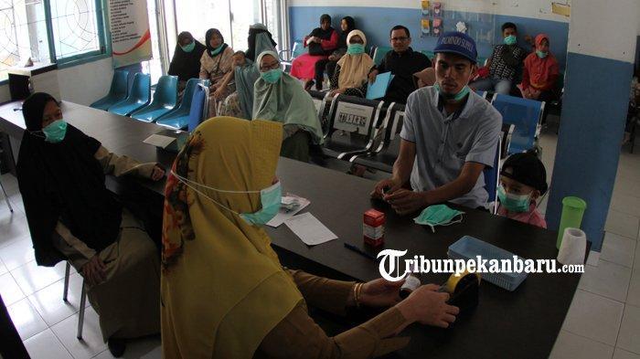 Kabut Asap Meluas Ke Rohul Riau, Ratusan Orang Terjangkit ISPA