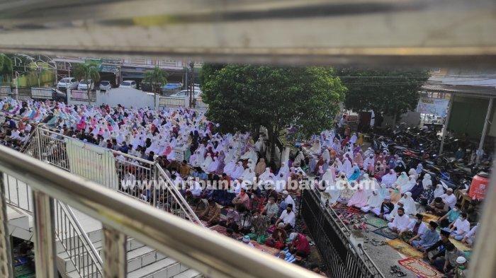 Masjid di Zona Merah Gelar Salat Ied,Wako Pekanbaru Sudah Keluarkan Edaran,Apa Kata Satgas Covid-19?