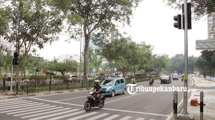 Tinggal Pasang Meteran Listrik, Pelican Crossing di Jalan Sudirman Segera Beroperasi